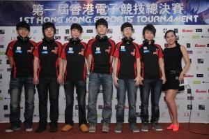 電子競技公司透過舉辦比賽,發掘具潛質的選手。(圖片由受訪者提供)