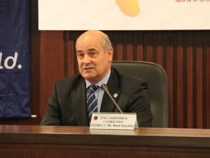 足總行政總裁薛基輔以個人身份回應指,同意本港足球博彩合法化能促進球壇發展。