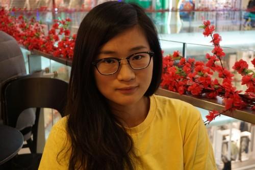 國際特赦組織香港分會人權教育幹事劉尹渭。