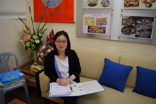 觀塘官立中學教師徐美霞。